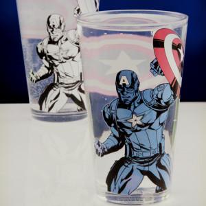 Toverglas met Captain America