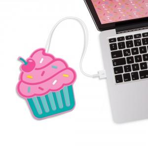 "USB-bekerwarmer ""Cupcake"" of ""Donut"""