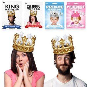 ''Vandaag koning(in)...'' - opblaasbare kroon