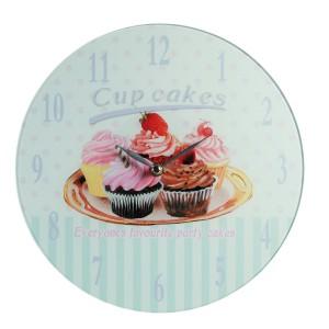 "Wandklok ""Cupcakes"""