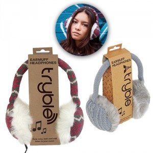Warme oorkleppen-koptelefoon