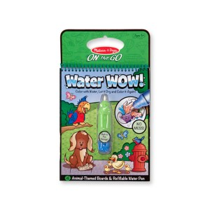 Water Wow! - waterkleurboek (dieren)