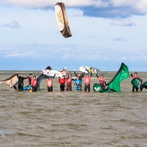 Week cursus kitesurfen - Friesland