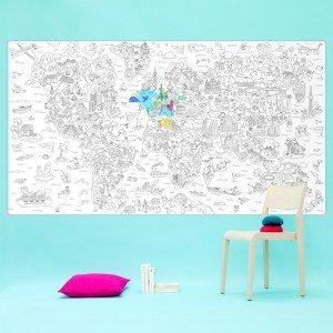 XXL-kleurplaat 'Atlas'