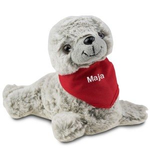 Zeehond met halsdoek met naam