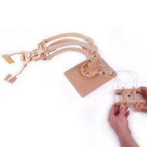 Zelfbouw Robotarm