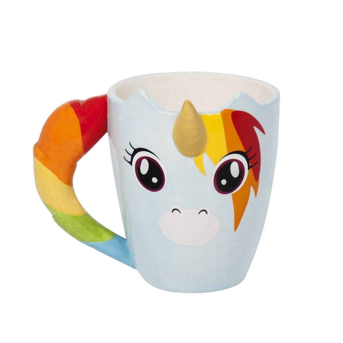 Afbeelding Unicorn Mok - Lichtblauw door YourSurprise.nl