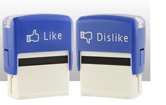 Stempelset Like & dislike